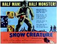 The Snow Creature - 11 x 14 Movie Poster - Style A