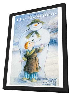 The Snowman - 11 x 17 Movie Poster - Style C - in Deluxe Wood Frame