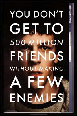 The Social Network - 43 x 62 Movie Poster - Bus Shelter Style A