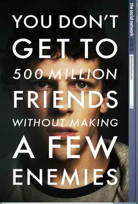 The Social Network - 27 x 40 Movie Poster - Style B