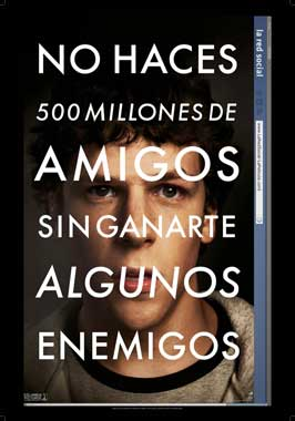 The Social Network - 27 x 40 Movie Poster - Spanish Style A
