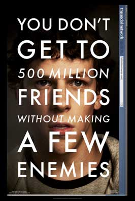 The Social Network - DS 1 Sheet Movie Poster - Style A