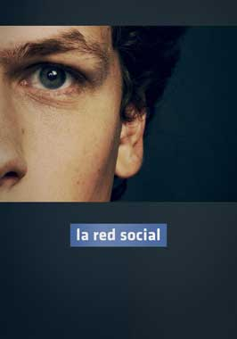 The Social Network - 11 x 17 Movie Poster - Spanish Style B