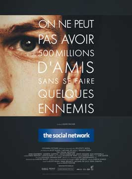 The Social Network - 11 x 17 Movie Poster - French Style B