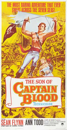 Son of Captain Blood - 27 x 40 Movie Poster - Style D