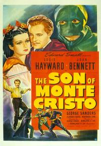 The Son of Monte Cristo - 27 x 40 Movie Poster - Style A
