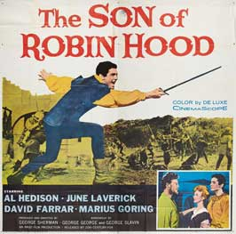 The Son of Robin Hood - 30 x 30 Movie Poster - Style A