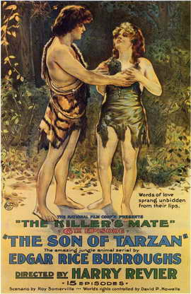 The Son of Tarzan - 11 x 17 Movie Poster - Style B