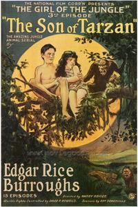 The Son of Tarzan - 27 x 40 Movie Poster - Style A