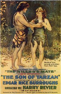 The Son of Tarzan - 27 x 40 Movie Poster - Style B