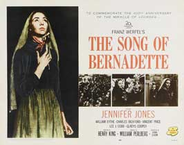 The Song of Bernadette - 11 x 14 Movie Poster - Style B