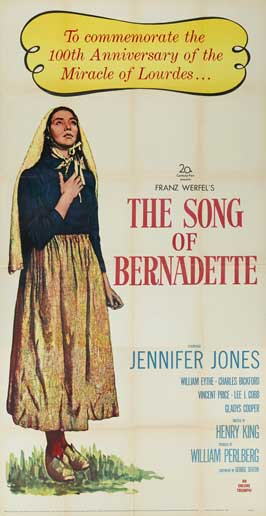 The Song of Bernadette - 20 x 40 Movie Poster - Style A