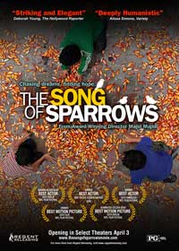 The Song of Sparrows - 11 x 17 Movie Poster - Style A