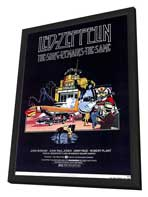 The Song Remains the Same - 11 x 17 Movie Poster - Style A - in Deluxe Wood Frame