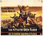 Sons of Katie Elder - 27 x 40 Movie Poster - Foreign - Style A