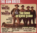 Sons of Katie Elder - 11 x 17 Movie Poster - Style D