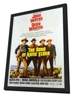 Sons of Katie Elder - 27 x 40 Movie Poster - Style A - in Deluxe Wood Frame