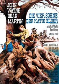 Sons of Katie Elder - 11 x 17 Movie Poster - German Style A