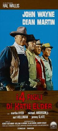 Sons of Katie Elder - 13 x 28 Movie Poster - Italian Style A