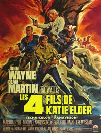 Sons of Katie Elder - 11 x 17 Movie Poster - French Style A