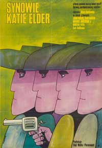 Sons of Katie Elder - 27 x 40 Movie Poster - Polish Style A