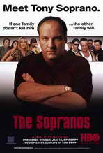 The Sopranos - 27 x 40 TV Poster - Style B