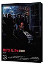 The Sopranos - 27 x 40 TV Poster - Style E - Museum Wrapped Canvas