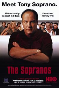 The Sopranos - 11 x 17 TV Poster - Style B