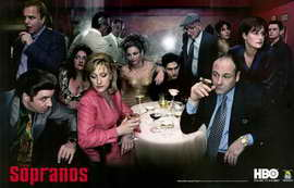 The Sopranos - 11 x 17 TV Poster - Style F
