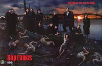 The Sopranos - 11 x 17 TV Poster - Style G