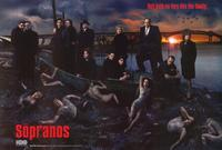 The Sopranos - 27 x 40 TV Poster - Style D