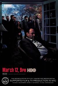 The Sopranos - 11 x 17 TV Poster - Style H