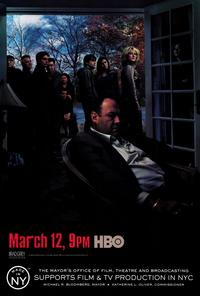 The Sopranos - 27 x 40 TV Poster - Style E