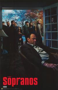 The Sopranos - 11 x 17 TV Poster - Style I