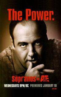 The Sopranos - 11 x 17 TV Poster - Style K