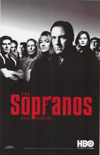 The Sopranos - TV Poster - 22 x 34 - Style A