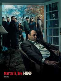 The Sopranos - 11 x 17 TV Poster - Style R