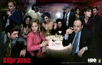 The Sopranos - 11 x 17 TV Poster - Style F - Museum Wrapped Canvas