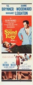 The Sound and the Fury - 14 x 36 Movie Poster - Insert Style A