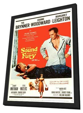 The Sound and the Fury - 11 x 17 Movie Poster - Style A - in Deluxe Wood Frame