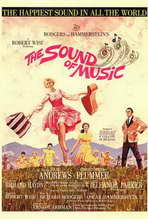 """The Sound of Music"" Movie Poster"