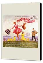 The Sound of Music - 11 x 17 Movie Poster - Style B - Museum Wrapped Canvas