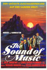 The Sound of Music - 27 x 40 Movie Poster - German Style A