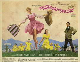 The Sound of Music - 22 x 28 Movie Poster - Half Sheet Style A