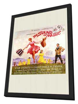 The Sound of Music - 11 x 17 Movie Poster - Style B - in Deluxe Wood Frame
