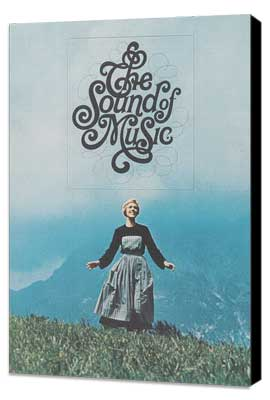 The Sound of Music - 11 x 17 Movie Poster - Style E - Museum Wrapped Canvas