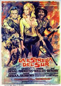 The Southern Star - 11 x 17 Movie Poster - Spanish Style A