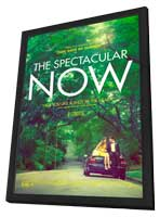 The Spectacular Now - 27 x 40 Movie Poster - Style A - in Deluxe Wood Frame