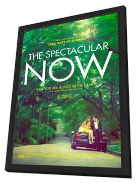 The Spectacular Now - 11 x 17 Movie Poster - Style A - in Deluxe Wood Frame