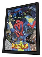 The Spectacular Spider-Man - 11 x 17 Movie Poster - Style A - in Deluxe Wood Frame